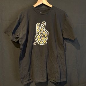Neff Peace Sign Rubber Duck Black T-shirt Sz L